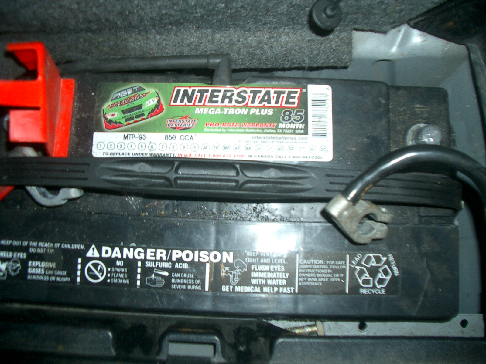 Battery on Bmw X5 Battery Location
